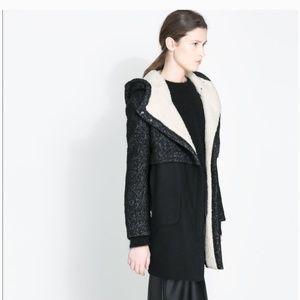 Zara - lana wool coat